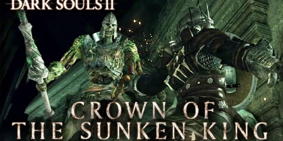 Se vienen tres nuevos contenidos descargables para Dark Souls II