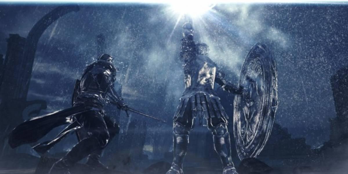 Nuevos videos de Dark Souls II nos revelan al Mirror Knight, uno de los jefes del juego
