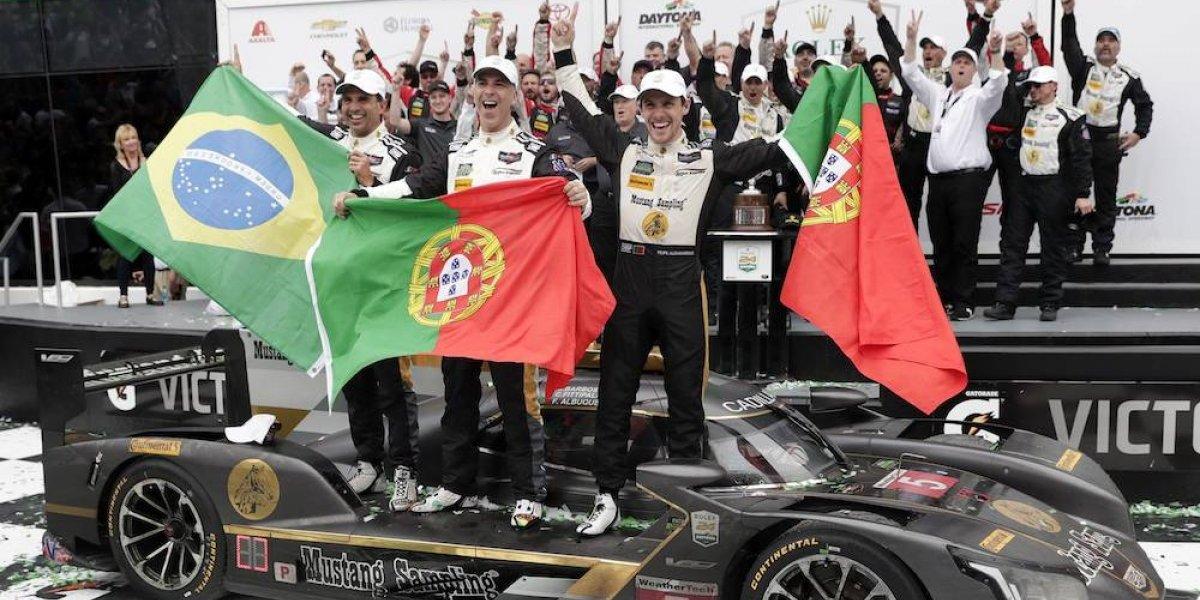 Fittipaldi, Barbosa y Albuquerque ganan 24 Horas de Daytona