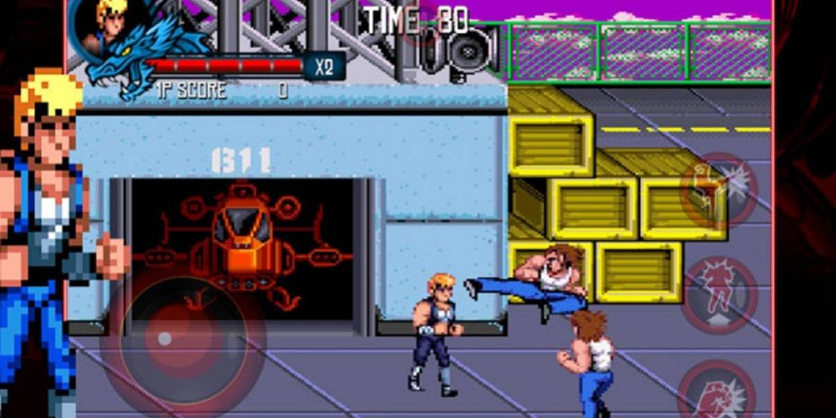 Trilogía de Double Dragon aterriza en iOS y Android