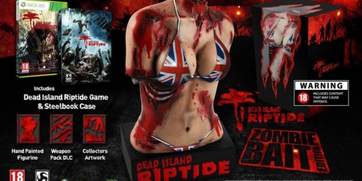 La nueva edición limitada de Dead Island: Riptide es grotescamente brutal