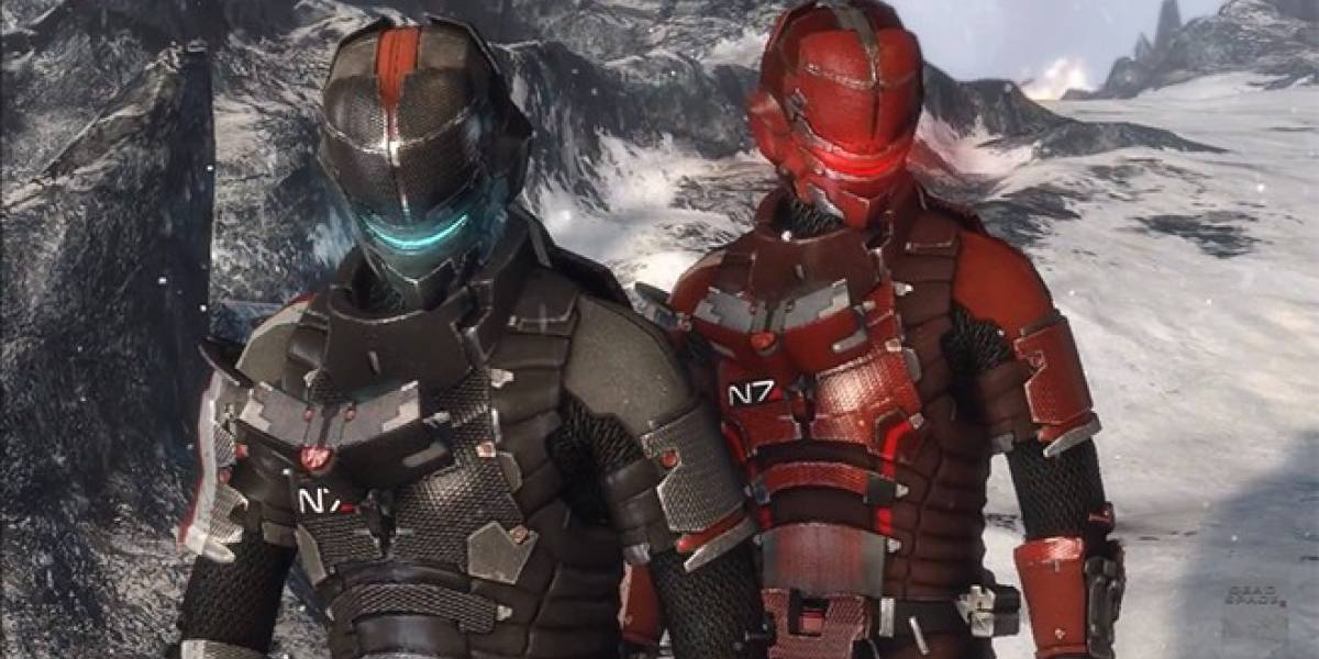Dead Space 3 recibirá armaduras especiales inspiradas en Mass Effect