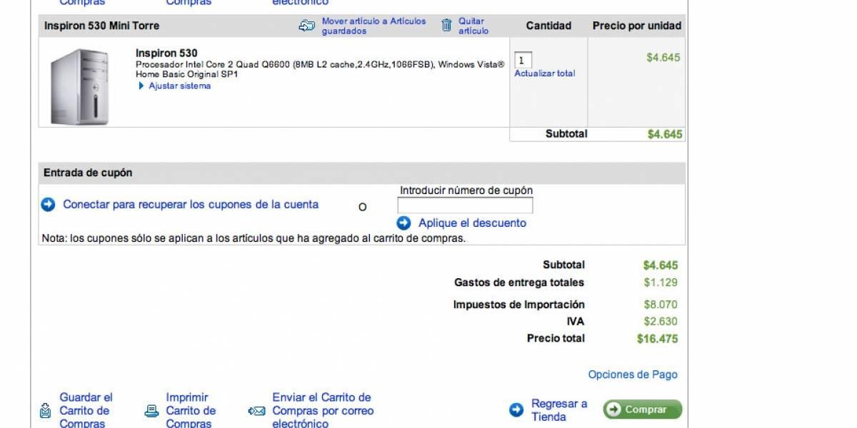 Otra más de Dell: Desktop a $16.000