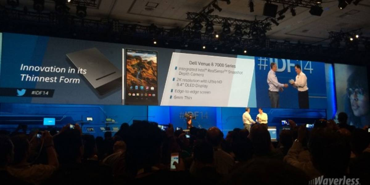 Intel y Dell muestran la tablet Venue 8 7000 Series #IDF14