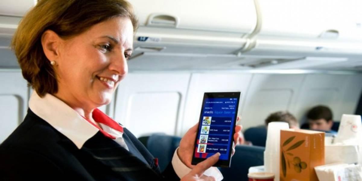 Auxiliares de vuelo de Delta utilizarán phablets para prestar servicio en vuelo