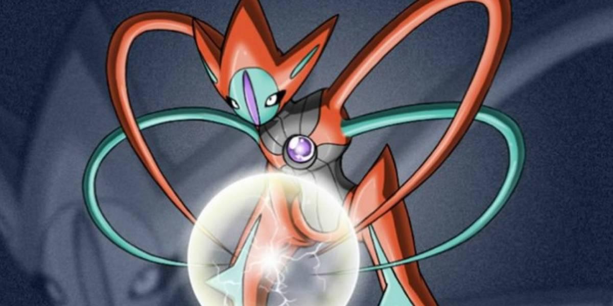 Deoxys llegará a Pokémon Black y White 2 mediante un evento Wi-Fi