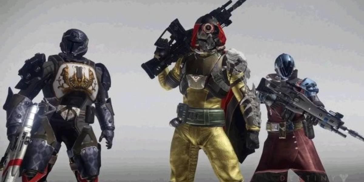 Bungie entrega un vistazo a los personajes de Destiny