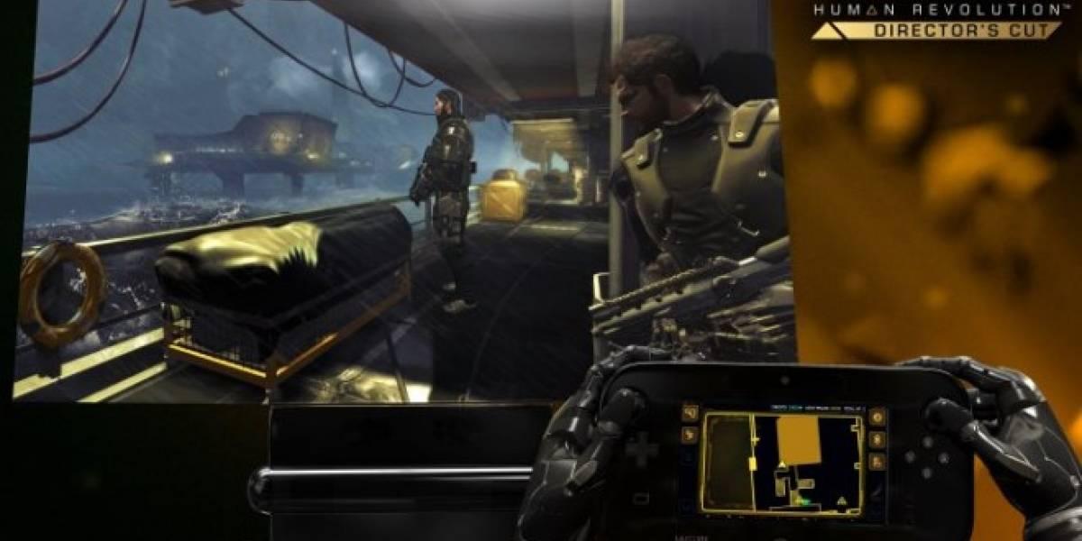 Square Enix anuncia oficialmente Deus Ex: Human Revolution para Wii U