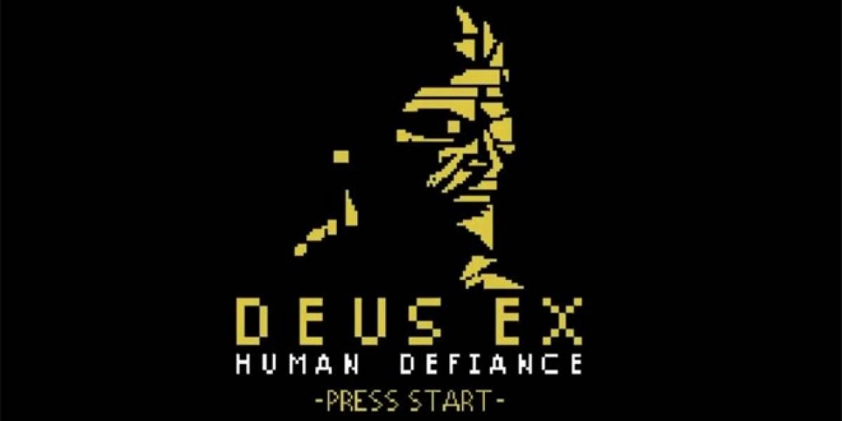 Deus Ex: Human Defiance es finalmente un juego en 8-bits