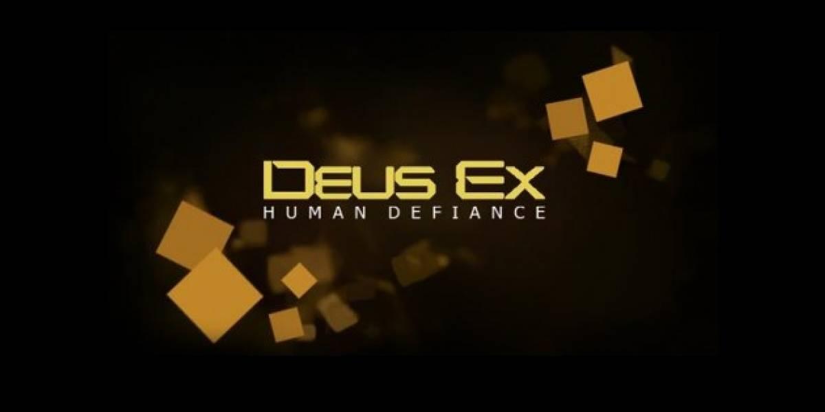 Mañana lunes se revelará Deus Ex: Human Defiance