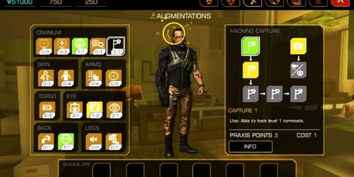 Deus Ex: The Fall ya tiene fecha de lanzamiento en la App Store