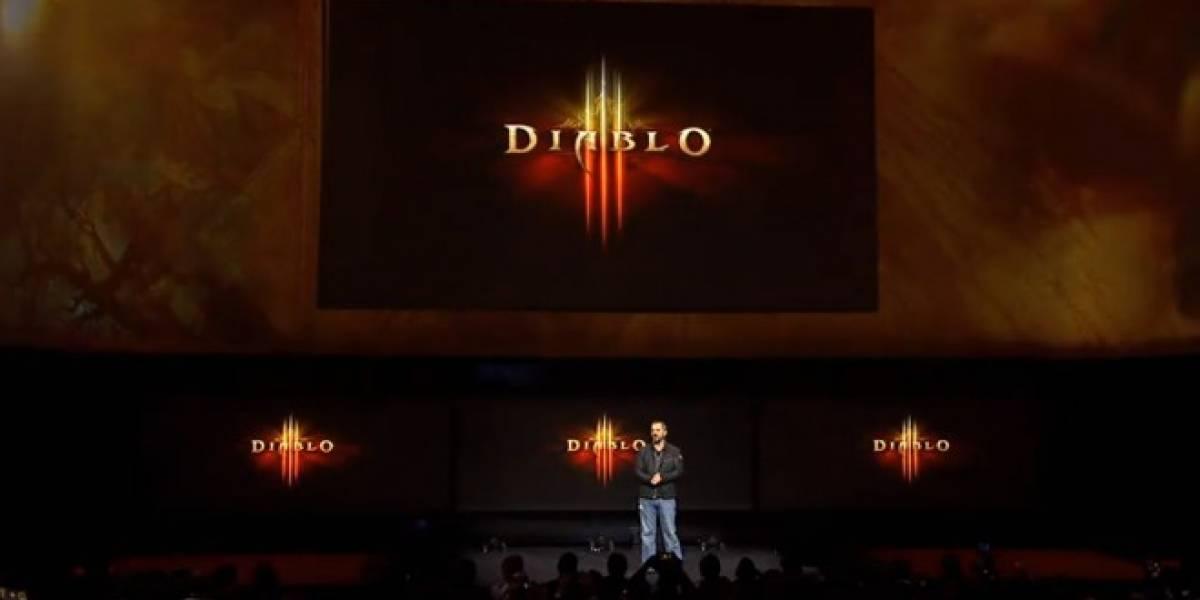 Diablo III para PlayStation 4 llegará en el 2014