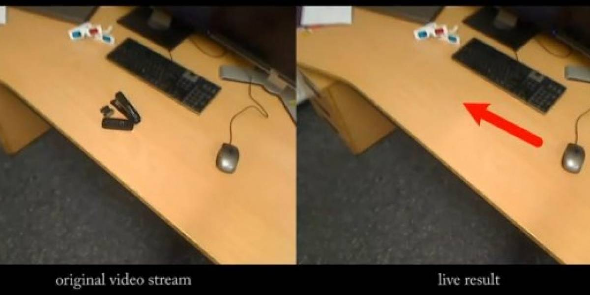 Diminished Reality: Eliminación de objetos en tiempo real
