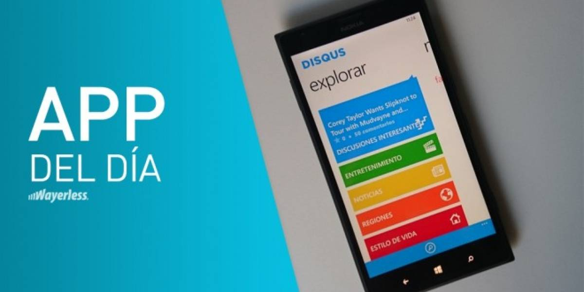 Administra tus comentarios en Internet con Disqus para Windows Phone