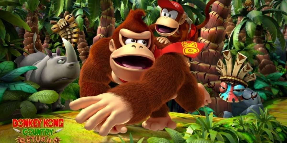 Donkey Kong Country Returns 3D tendrá nuevo contenido y características