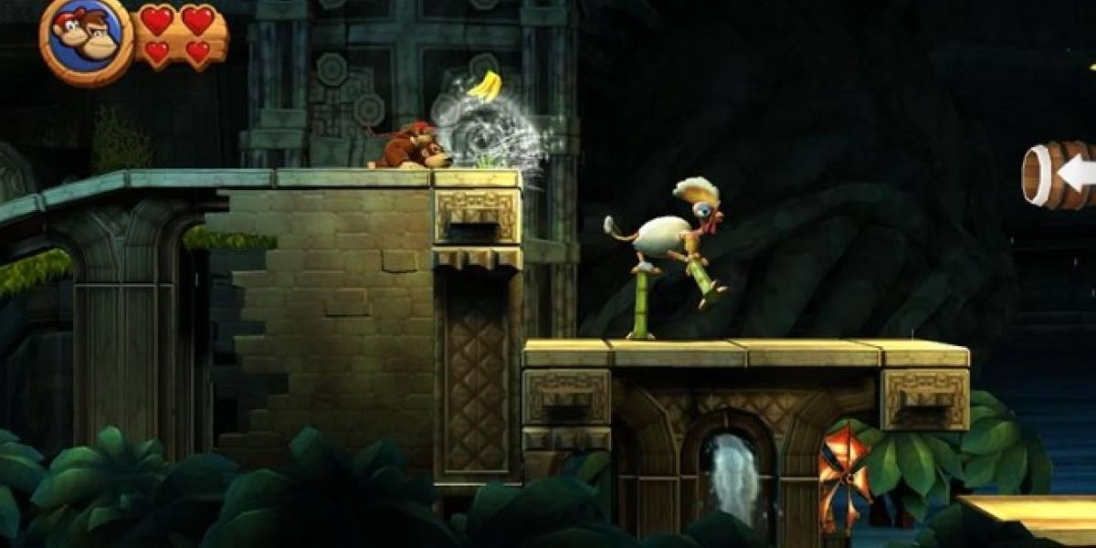Donkey Kong Country Returns 3D ya tiene fecha de estreno en 3DS