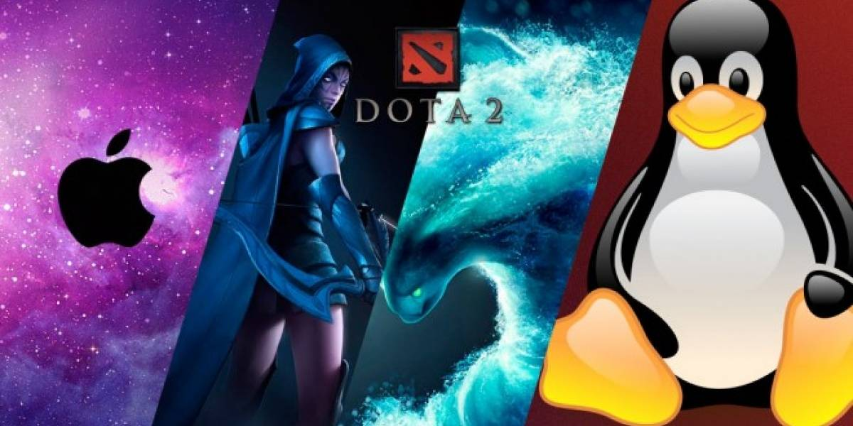 Dota 2 ya está disponible para Mac y Linux