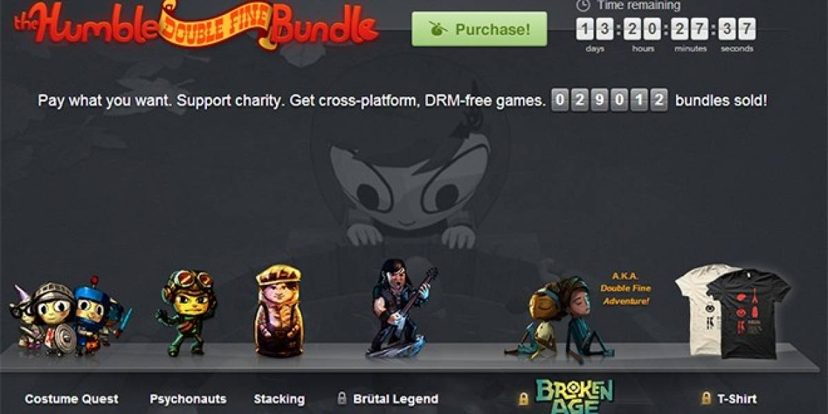 Lanzan el Humble Double Fine Bundle