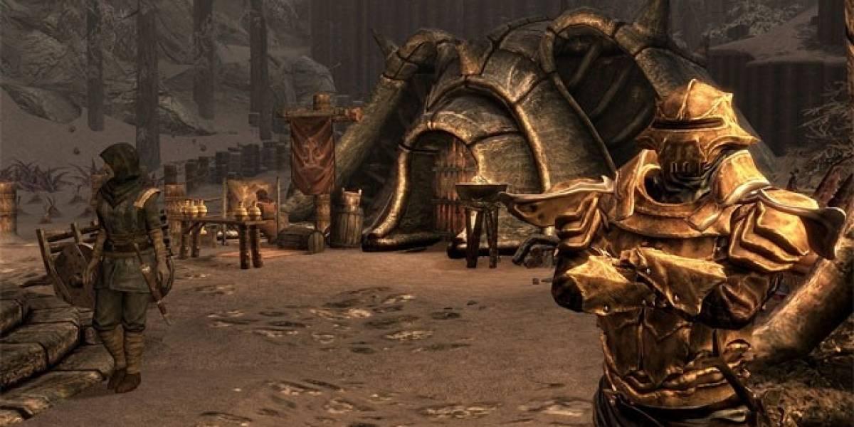 Todos los DLC de Skyrim llegarán el próximo mes a tu PlayStation 3