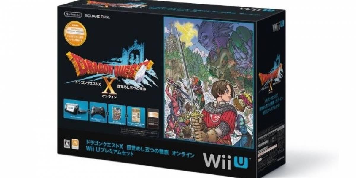 Lanzamiento de Dragon Quest X mejora tibiamente las ventas de Wii U en Japón
