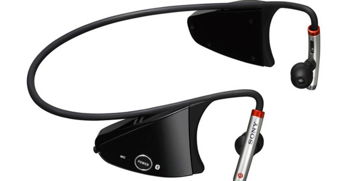 DR-BT150AS: Auriculares futuristas de Sony