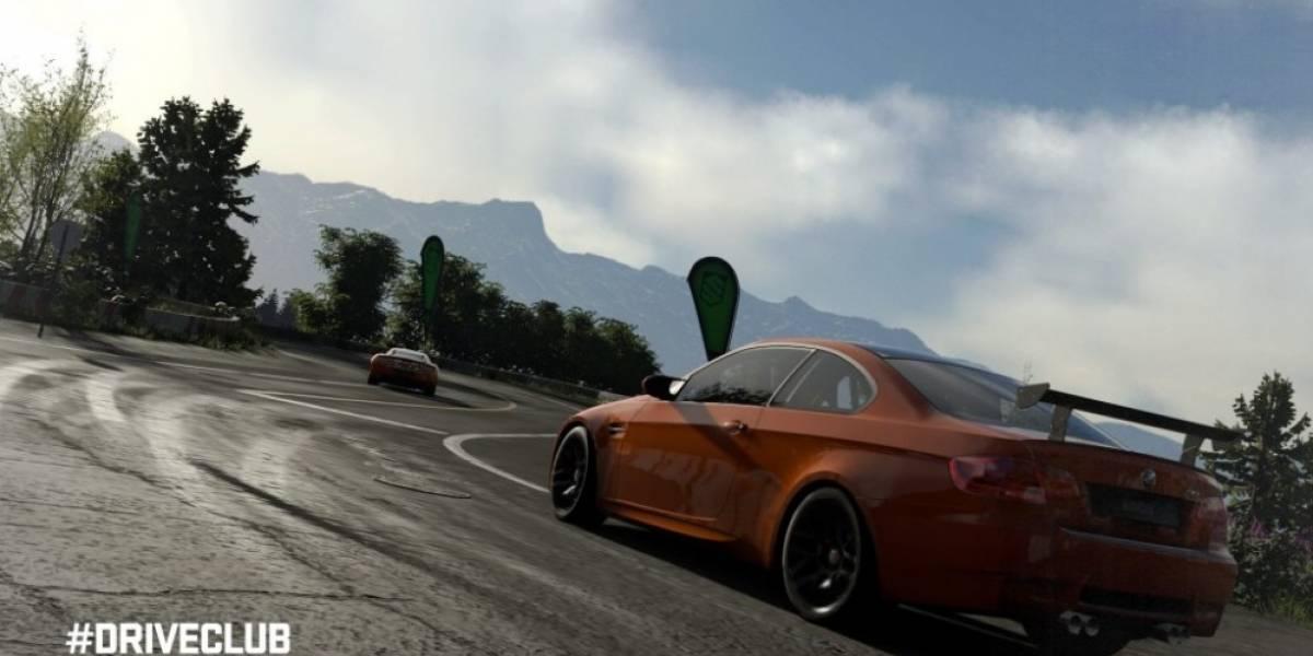 Evolution muestra las mejoras visuales de DriveClub