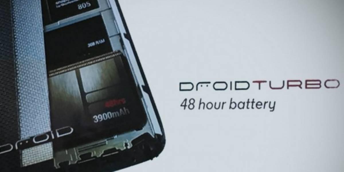Motorola anuncia oficialmente el Droid Turbo y su batería de larga duración