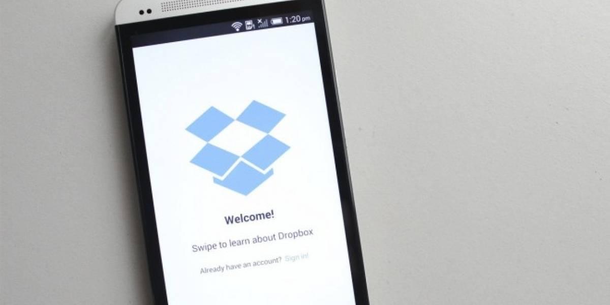 Dropbox para Android se actualiza y mejora sus capacidades de búsqueda
