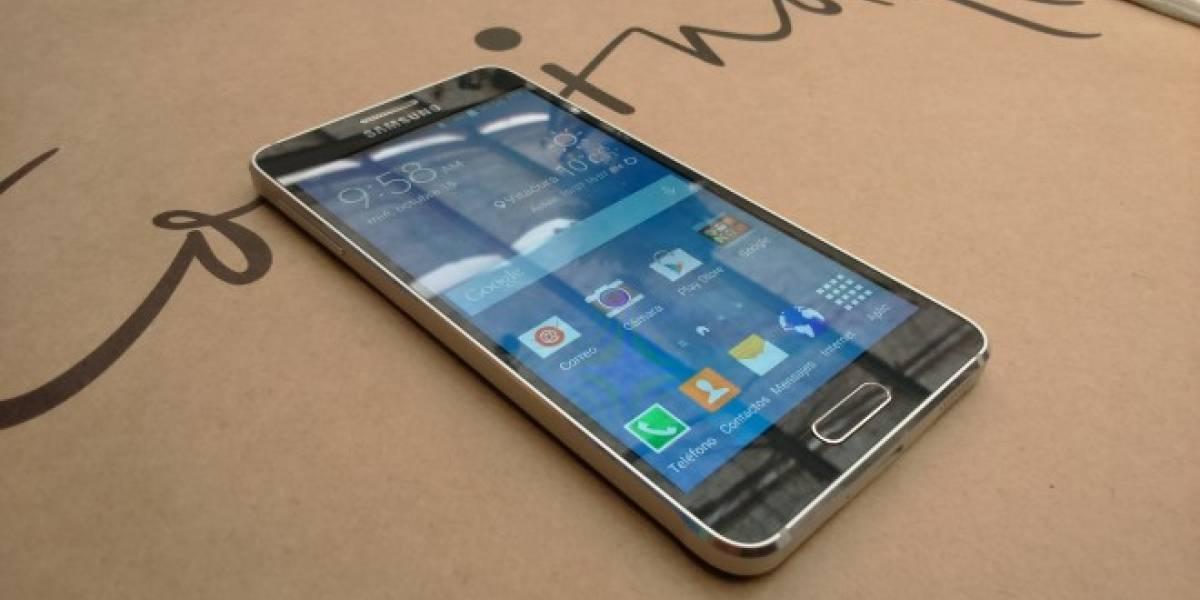 Samsung y Entel presentaron al Galaxy Alpha en Chile
