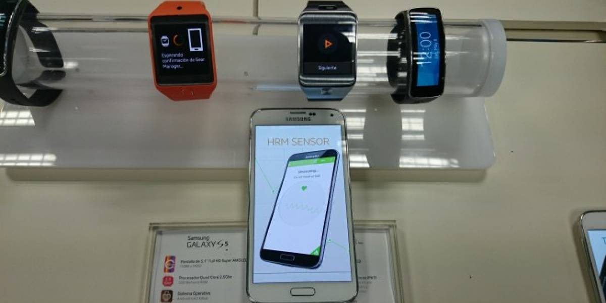 Samsung Galaxy S5 hace su arribo a Chile
