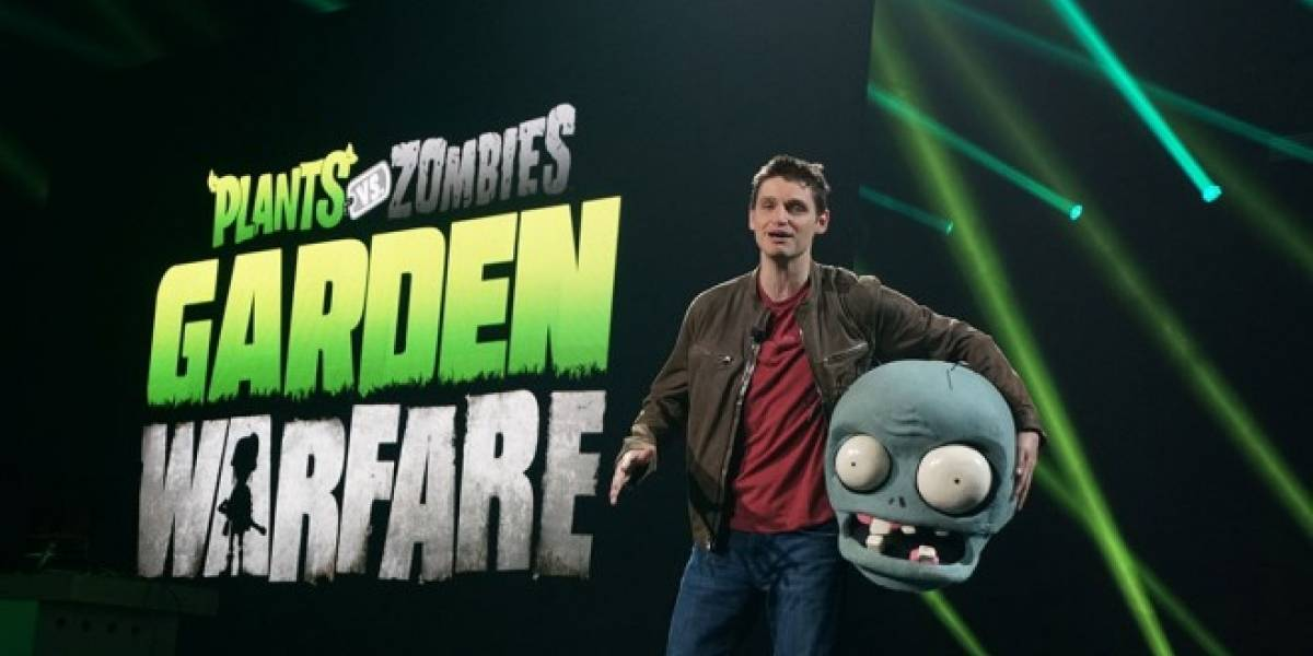 EA confirma Plants vs Zombies: Garden Warfare #E3
