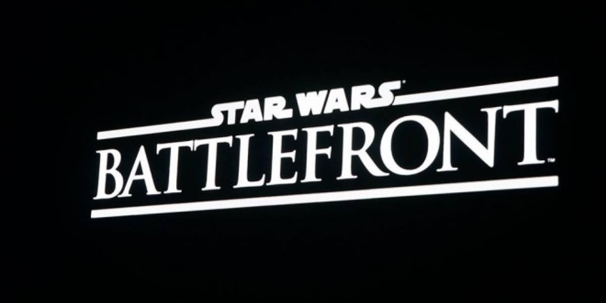 EA revela nuevo juego de Star Wars: Battlefront #E3