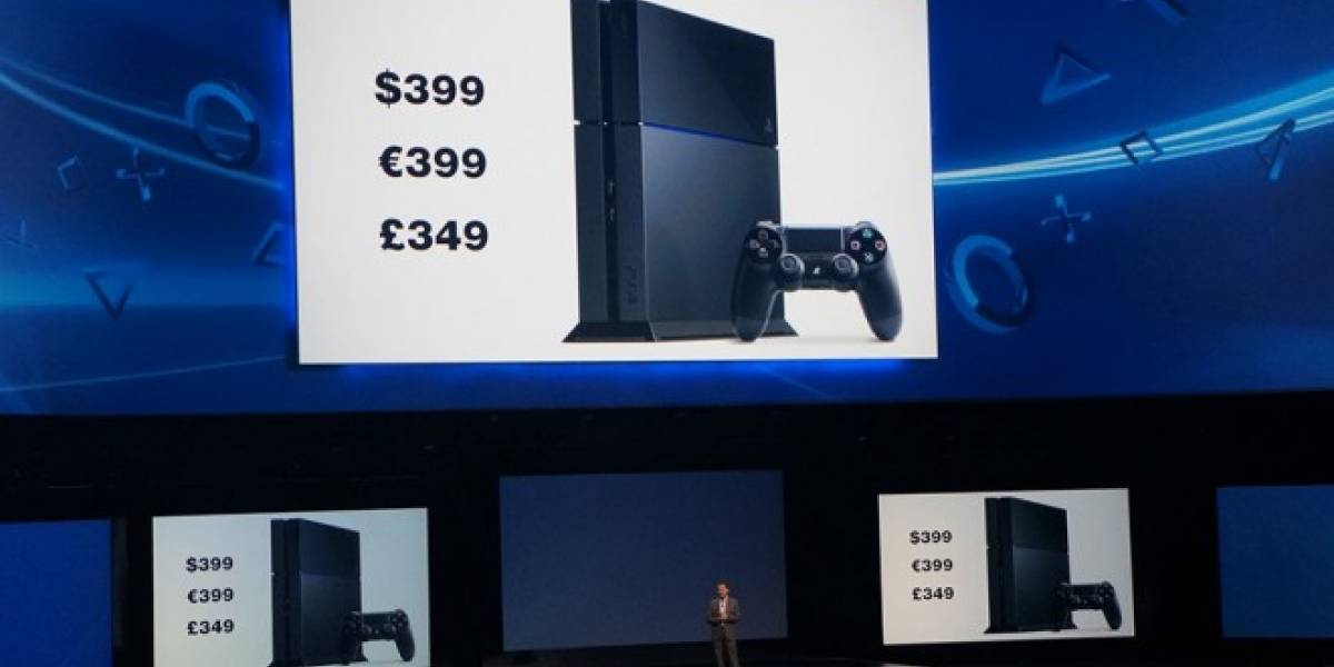 PlayStation 4 costará USD$399 #E3