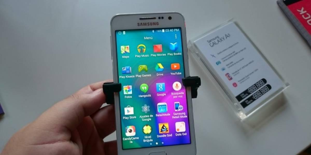 Samsung presenta a sus nuevos Galaxy A3 y Galaxy A5 en Chile