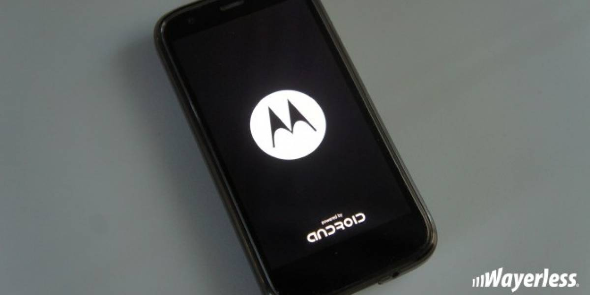Moto G y Moto X actualizan su animación de inicio