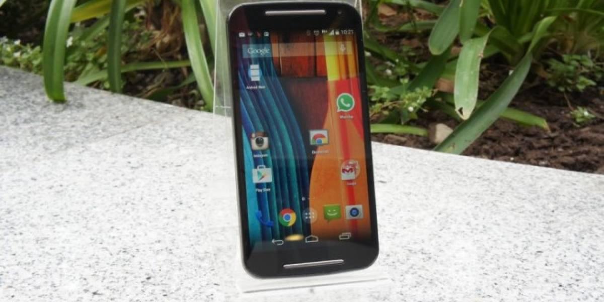 Android 5.0 Lollipop ya está disponible para el Moto G de segunda generación