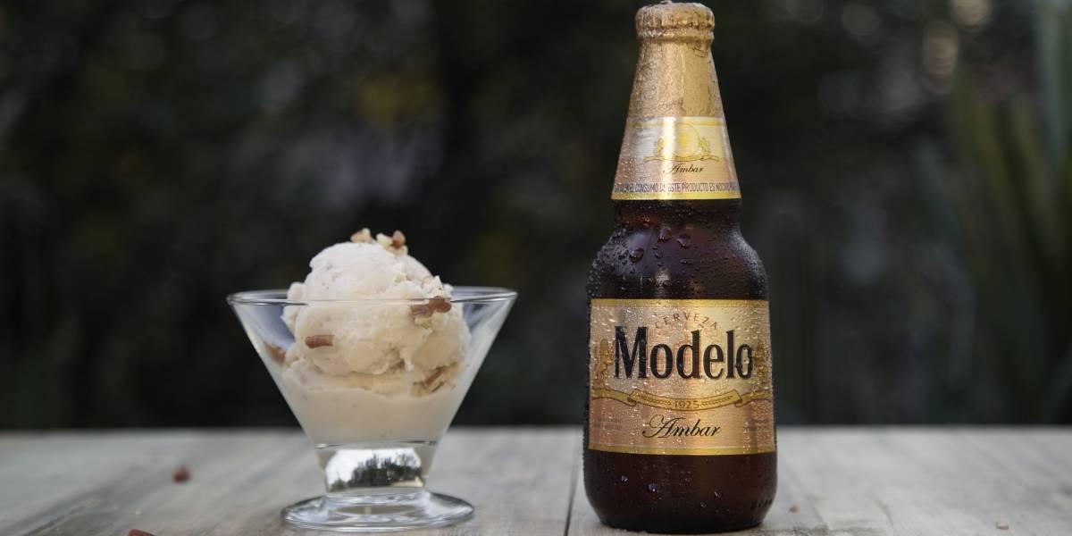 Si amas la cerveza y el helado, esta combinación gastronómica es para ti