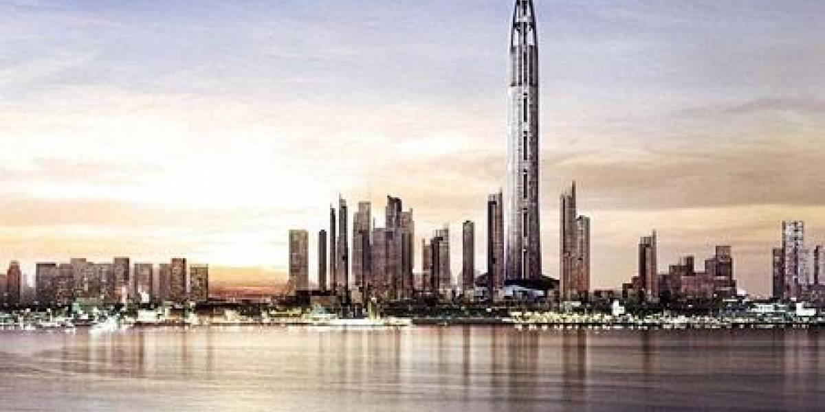 Anuncian la torre más alta del mundo que desplazará al Burj Dubai