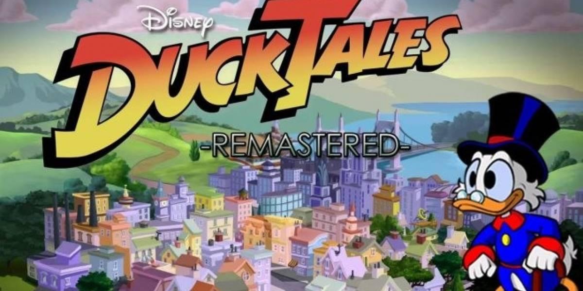 Capcom lleva más de dos años trabajando en Duck Tales Remastered