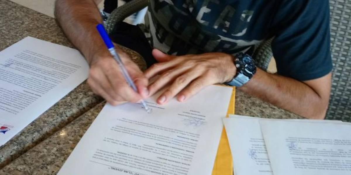 Lanza firmó para Clan Juvenil