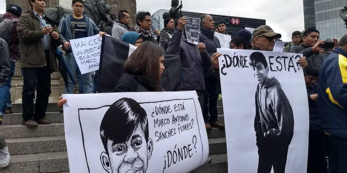Detienen a dos policías por la desaparición de Marco Antonio
