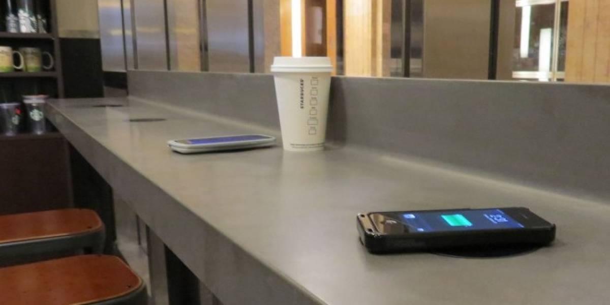 Starbucks integrará cargadores inalámbricos de Powermat