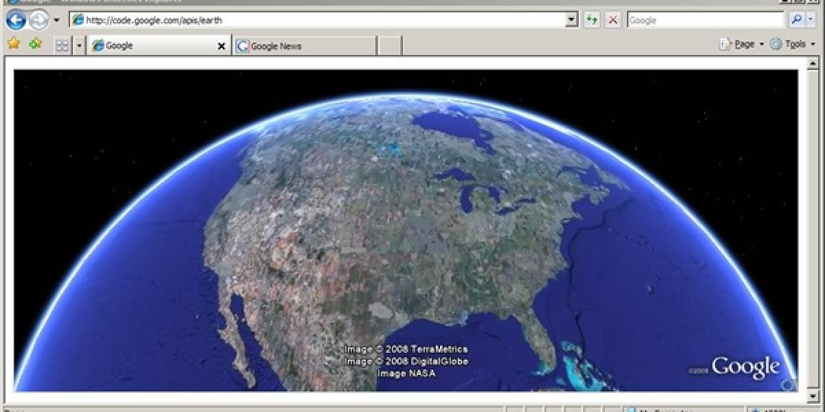 Google I/O: Google Earth, ahora en tu navegador