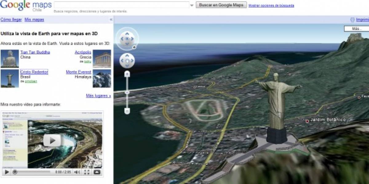 Google incorpora Earth View a Google Maps