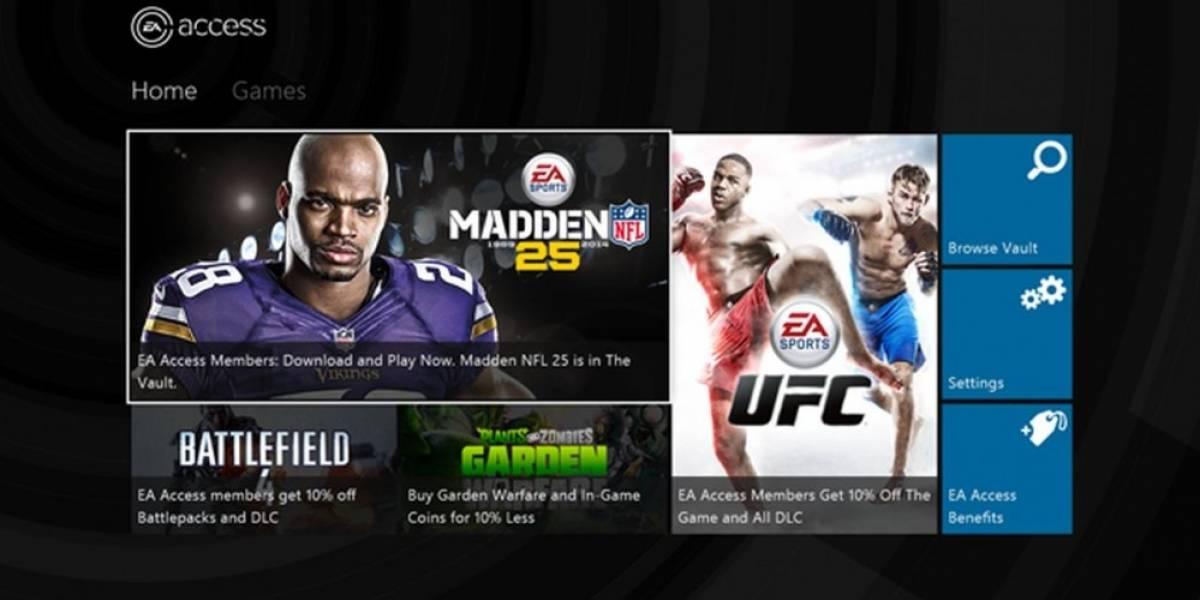 EA anuncia el servicio de suscripción EA Access para Xbox One