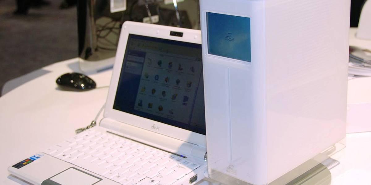 CES09: Eee PC D200, un servidor NAS con pantalla táctil