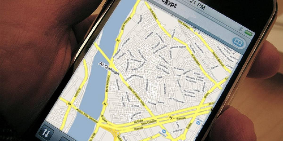 Encuentran forma de usar el GPS del iPhone en Egipto