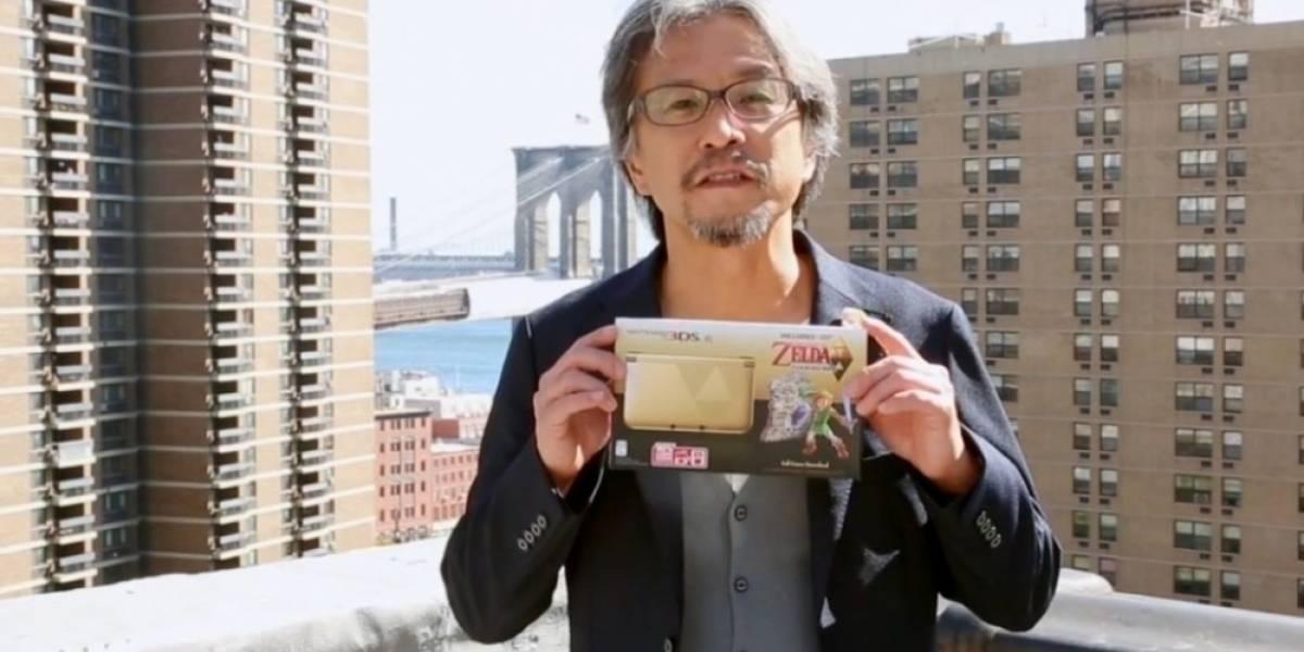 Nintendo confirma la 3DS XL dorada con A Link Between Worlds para el 22 de noviembre