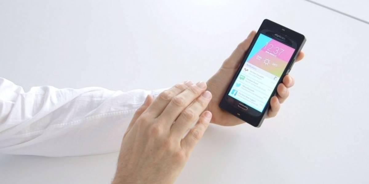 Elliptic Labs muestra tecnología que permite usar nuestro smartphone sin tocarlo
