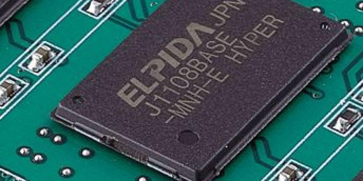 Elpida lanza memorias DDR3 a 30nm